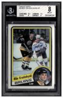 1984-85 Topps #6 Mike Krushelnyski SP Beckett BGS 8 NM-MT