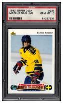 1992-93 Upper Deck #234 Markus Naslund PSA 10 Gem Mint RC-Rookie