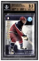 2004-05 In The Game Heroes and Prospects #117 Alexander Ovechkin BGS 9.5 Gem Mint