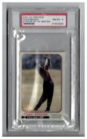 2001 Sports Illustrated for Kids  Tiger Woods Athlete of the Year #NNO1 Tiger Woods  PSA 8