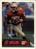 1994 Superior Rookies Side Line Promos #2A Charlie Ward
