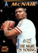 1995 Action Packed Monday Night Football #83 Steve McNair NY/ RC-Rookie