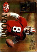 1995 Action Packed Armed Forces #AF4 Steve Young Promo