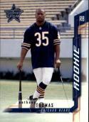 2001 Donruss Leaf Rookies & Stars #109 Anthony Thomas RPS  Bears