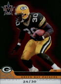 2001 Pacific Vanguard Red #35 Ahman Green  #'d/30