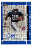 2007 Finest Rookie Autographs Blue XFractors #122 Chris Henry RC #'d/50