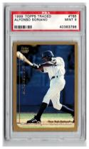 1999 Topps Traded #T65 Alfonso Soriano RC Graded  PSA 9 Mint