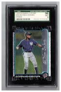 1999 Bowman Chrome #350 Alfonso Soriano RC Graded SGC 96 Mint Yankees