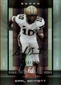 2008 Donruss Elite #156 Earl Bennett RC-Rookie Autograph #'d 74/299