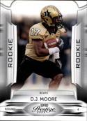 2009 Playoff Prestige #127b D.J. Moore  SP Gold