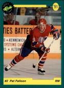 1991 Classic Draft Picks Promo #2 Pat Falloon