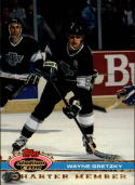 1991 Stadium Club Charter Member #46 Wayne Gretzky/Gretzky Takes/No. 2000