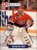 1991-92 Pro Set Gazette #2 Patrick Roy Montreal Canadiens