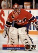 1991-92 Pro Set Gazette #SC1 Patrick Roy Montreal Canadiens
