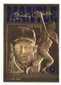 1996 BLEACHERS 23K GOLD MICKEY MANTLE ALL TIME GREAT EX/NM Serial No. 08183