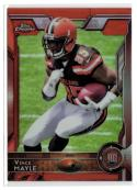 2015 Topps Chrome Orange Parallel Retail #168 Vince Mayle NM-MT