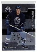 2001-02 BAP Signature Series Autographs #184 Eric Brewer NM Near Mint Autograph Oilers
