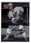 2001-02 BAP Signature Series Autographs #225 Sascha Goc  Autograph