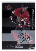 2001-02 BAP Signature Series Autographs #241 Ivan Ciernik  Senators