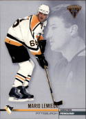 2001-02 Titanium Retail #114 Mario Lemieux  Penguins