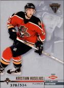 2001-02 Titanium Retail #161 Kristian Huselius  RC #'d/534 Panthers