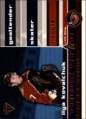 2001-02 Titanium Three-Star Selections #22 Ilya Kovalchuk EX/NM Thrashers