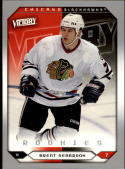 2005-06 Upper Deck Victory #253 Brent Seabrook  RC Blackhawks