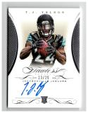 2015 Panini Flawless Rookie Signatures #9 T.J. Yeldon RC Autograph #'d/25 Jaguars
