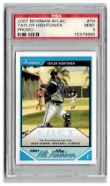 2007 Topps Bowman AFLAC Promo #TH Taylor Hightower PSA 9 MINT