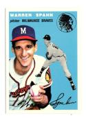 1994 Topps Archives 1954 Gold  #20 Warren Spahn