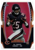 2014 Topps Chrome Rookie Die Cuts Red Refractor #CRDC-KC Ka'Deem Carey   3/25 Bears