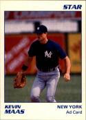 1990 Star Kevin Maas Ad Card