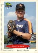 1991 Classic Best #333 Todd Jones NM-MT Autograph