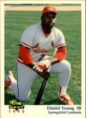 1992 Springfield Cardinals Classic Best #1 Dmitri Young Promo
