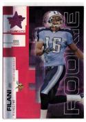 2007 Leaf Rookies and Stars Longevity Ruby #153 Joel Filani  #'d/199 Vikings