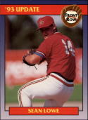 1993 Front Row Update Promo Card Sean Lowe
