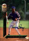 1994 Draft Picks Signatures #20 Terrence Long  Auto /7750 Mets Baseball