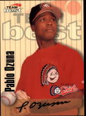 1998 Best Autographs Signature Series #39 Pablo Ozuna  Auto Baseball