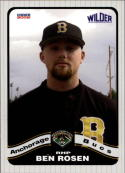 2008 Anchorage Bucs Choice #23 Ben Rosen  Baseball