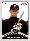 2008 Anchorage Bucs Choice  #25 Eddie Tisdale  Baseball