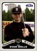 2008 Anchorage Bucs Choice #26 Evan Wells  Baseball
