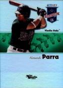 2008 PROjections Reflectives Green #285 Gerardo Parra  /50 Baseball