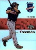 2008 PROjections Reflectives #154 Freddie Freeman  Baseball