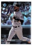 2017 Bowman Rookie of the Year ROY Favorites #ROYF-8 David Dahl  Rockies Baseball