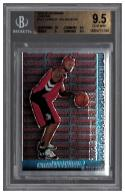 2005-06 BOWMAN CHROME #117 CHARLIE VILLANUEVA  RC BGS 9.5