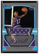2003-04 Bowman Signature Edition Silver #97 Maurice Williams NM MEM AU #'d/249