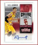 2016-17 Contenders Draft Picks College Ticket #181 Nikola Jovanovic Autograph