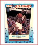 1989-90 Fleer Stickers #3 Michael Jordan  Bulls Basketball