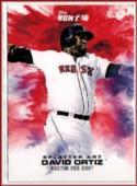 2016 Bunt Splatter Art #6 David Ortiz Online Exclusive  /457 Red Sox Baseball
