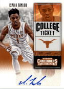 2016-17 Contenders Draft Picks College Ticket #167 Isaiah Taylor  Basketball
